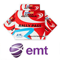 EMT special offer: 4 rally passes with a price of 3